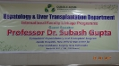 Prof Dr. Subash Gupta Liver Transplant Surgeon of India Visits QIH